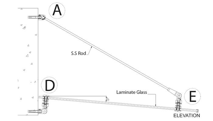 Frameless Double Canopy System 01