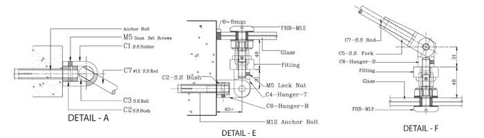 Frameless Double Canopy System 02. - Frameless ...  sc 1 st  Linox Technology & FRAMELESS GLASS CANOPY SYSTEMS :: Frameless Glass Sliding Doors ...