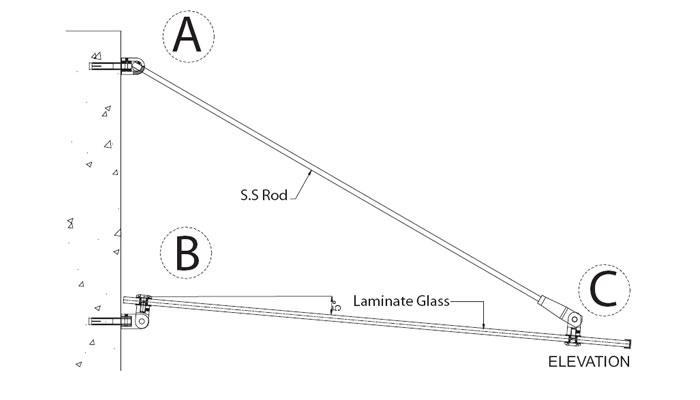 Frameless Glass Canopy Systems Frameless Glass Sliding