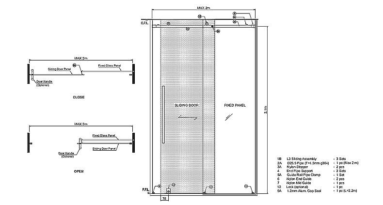 Frameless Sliding Doors Frameless Glass Sliding Doors Pool