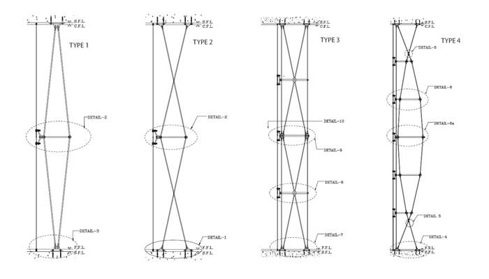 frameless tension rod system frameless